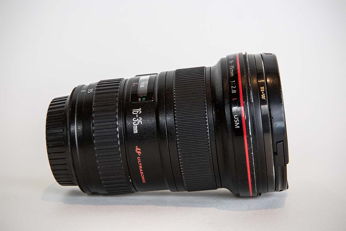 Canon 16-35mm f2.8 lens