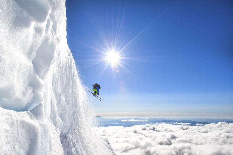 Jason Hummel glacier skiing