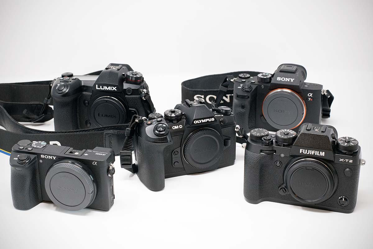 Mirrorless camera group photo
