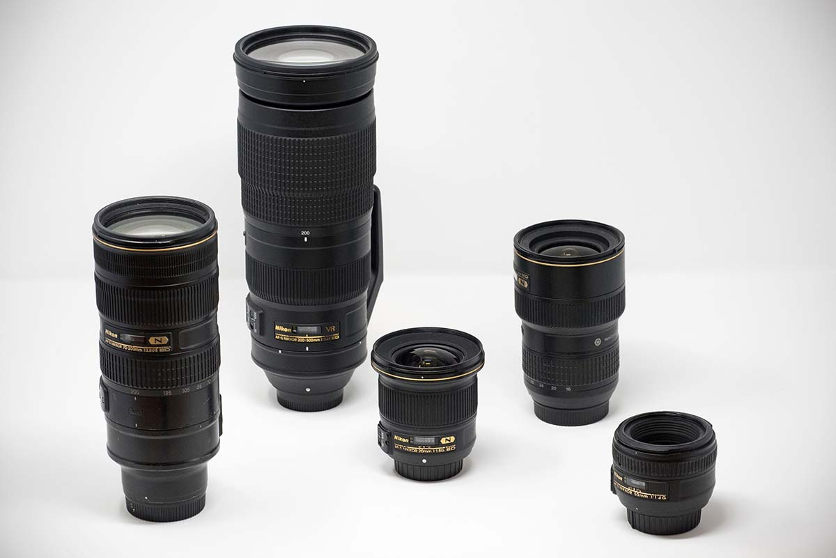 Nikon DSLR lenses
