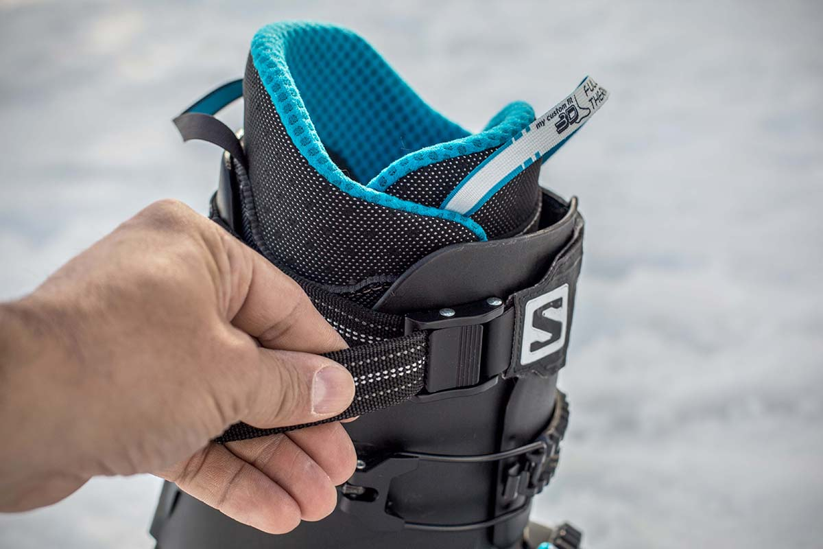 Salomon SLab MTN (liner and power strap)