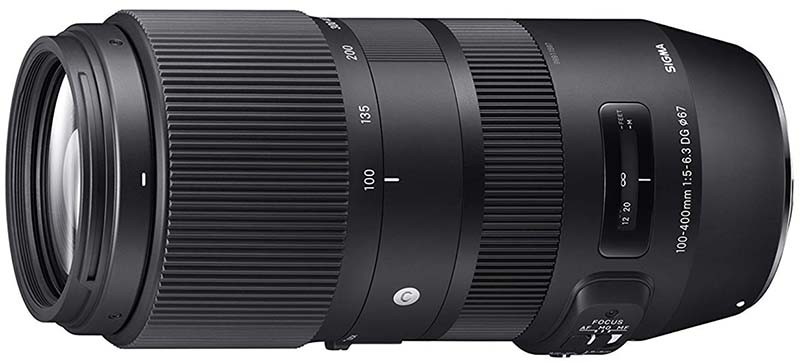 Sigma 100-400mm lens for Canon