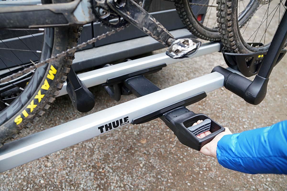 Thule T2 Pro (palanca de inclinación)