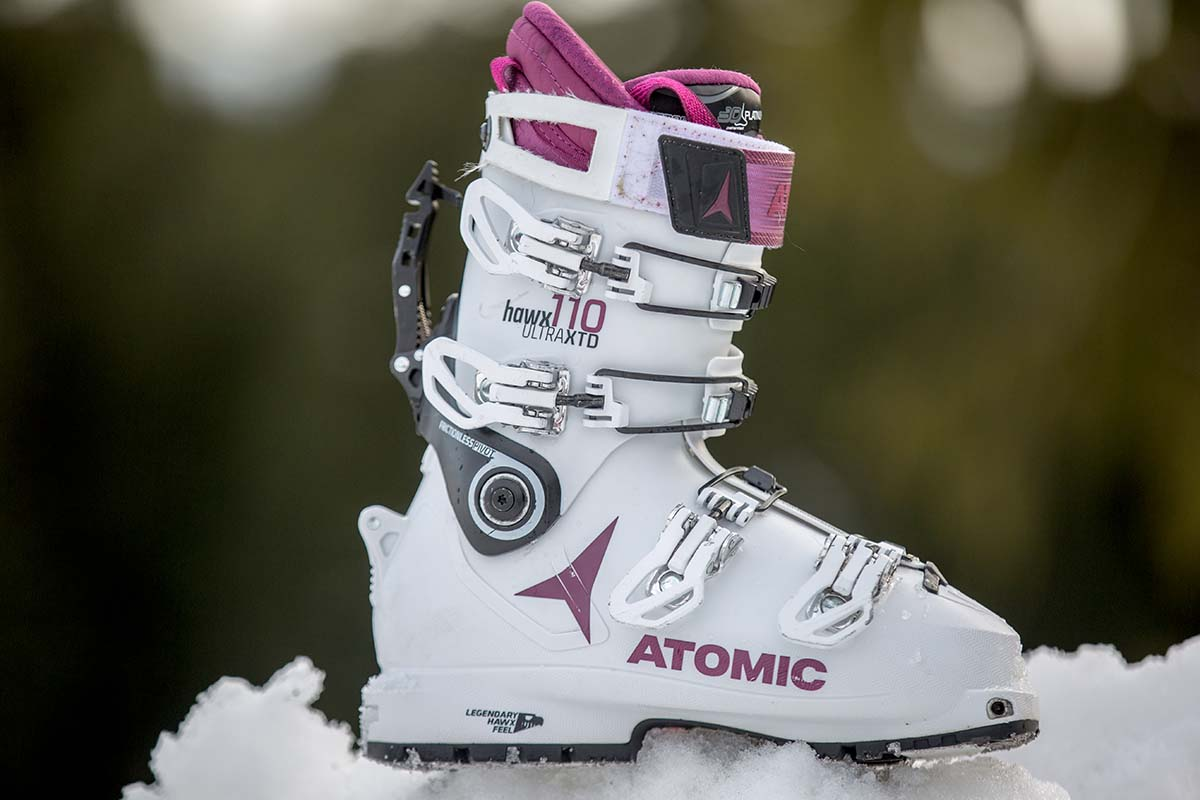 Women's backcountry ski boots