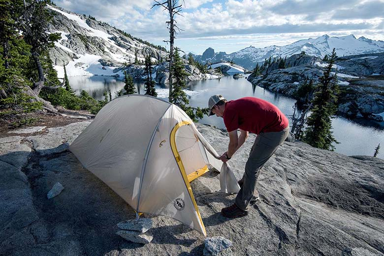 ​​Backpacking tent