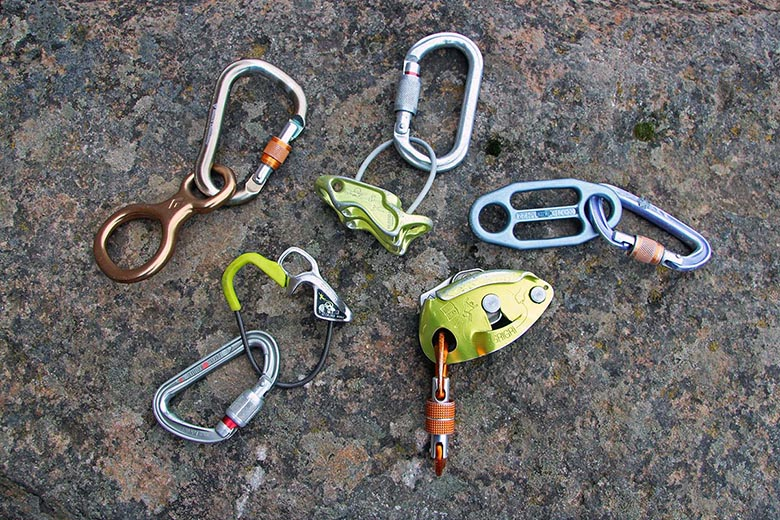 ATC Belay Device Rappelling Device Climbing Gear Mountaineering Equipment
