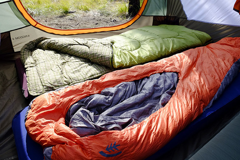 Camping Sleeping Bags (Sierra Designs and Coleman)