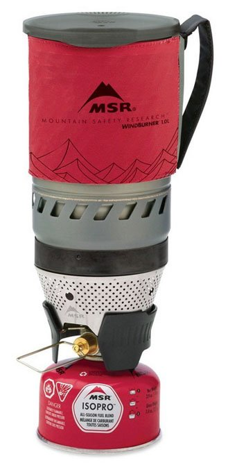 MSR WindBurner backpacking stove