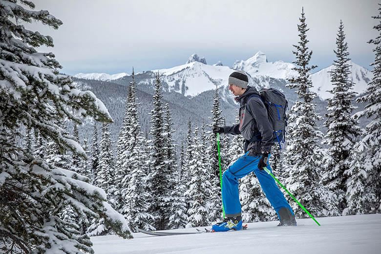 Drawstring Backpack Lakes And Snow Mountains Rucksack