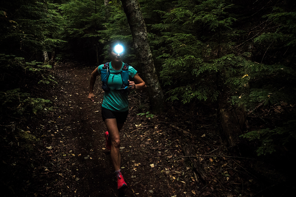 Headlamps (trail running at night)
