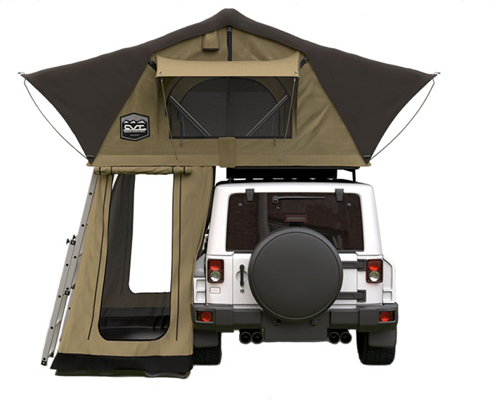 Cascadia Vehicle Tents Denali Standard Summit rooftop tent