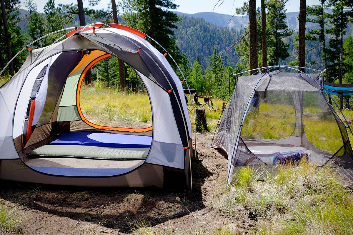 Camping tents (family tent vs. backpacking tent styles)