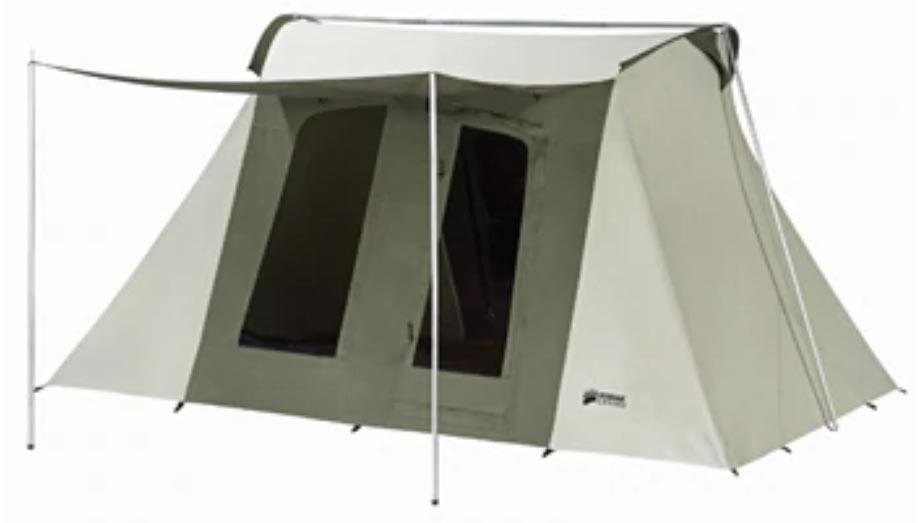 Kodiak Canvas Flex-Bow Deluxe camping tent