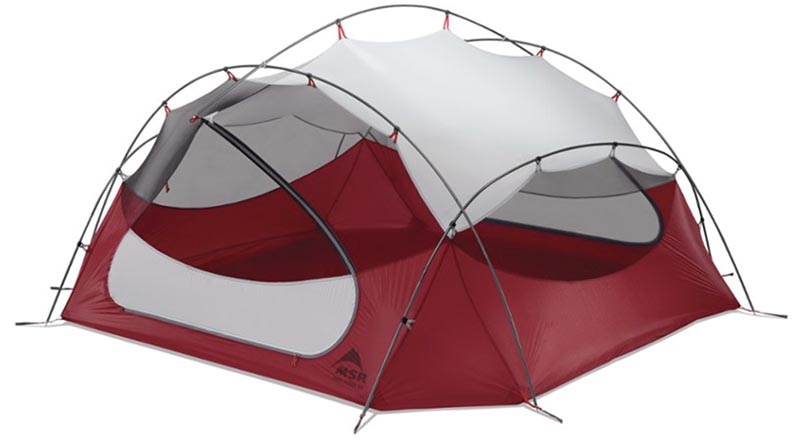 MSR Papa Hubba NX backpacking tent
