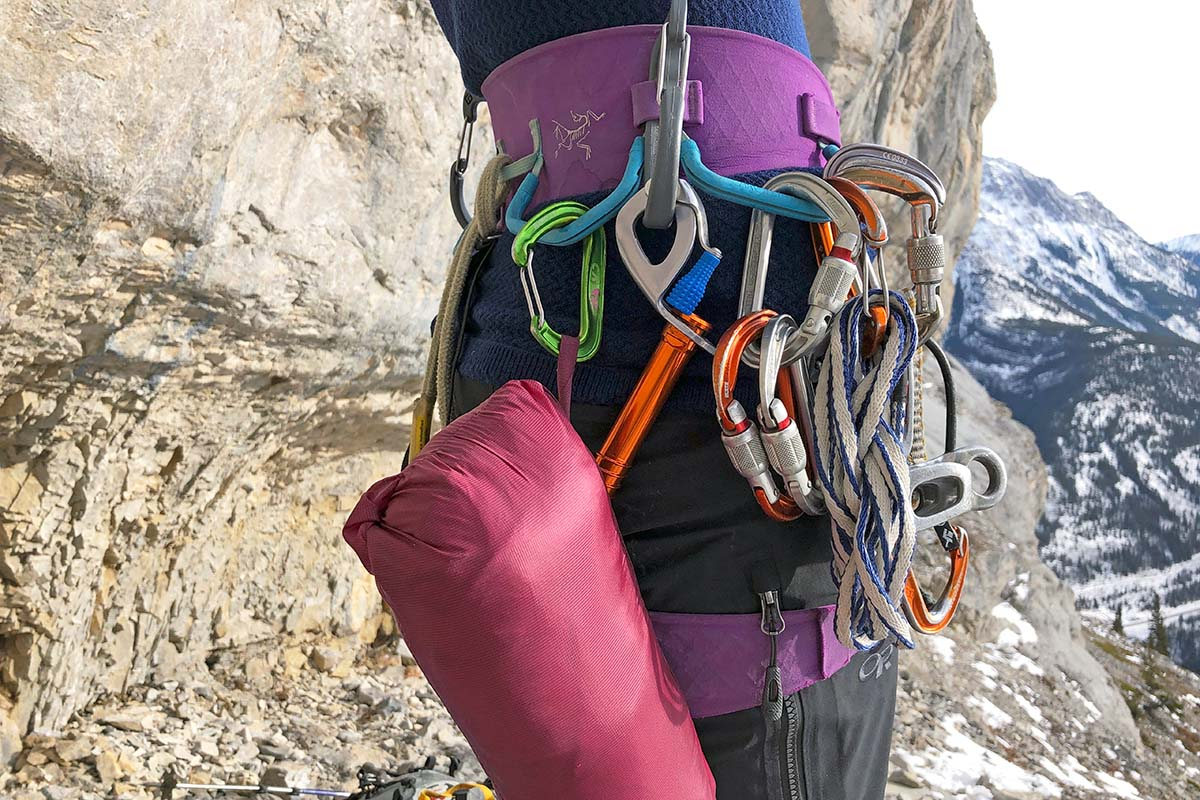 climbing harnesses (ice gear)