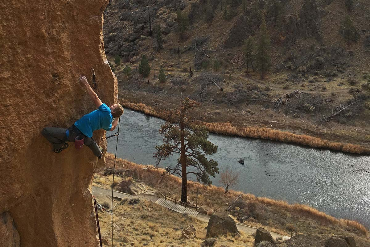 Climbing Quickdraws (Smith Rock)