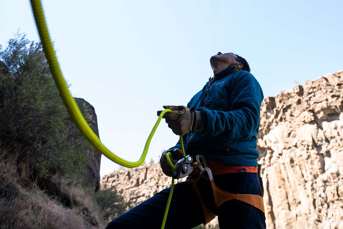 ropes (belay)
