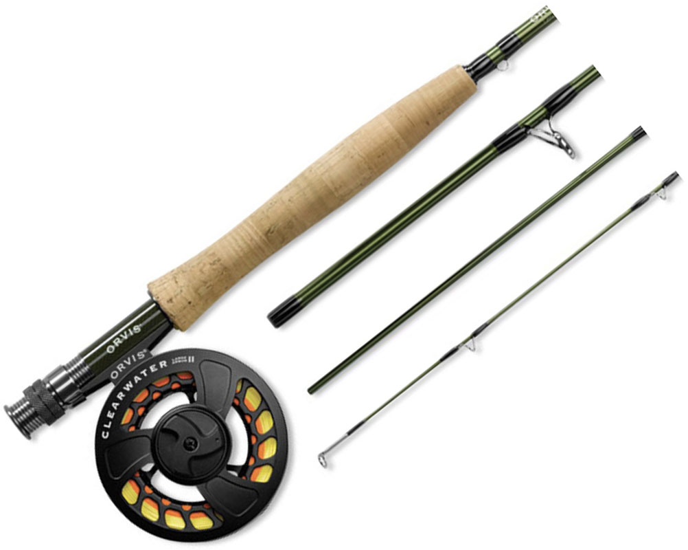 Orvis Clearwater fly rod combo