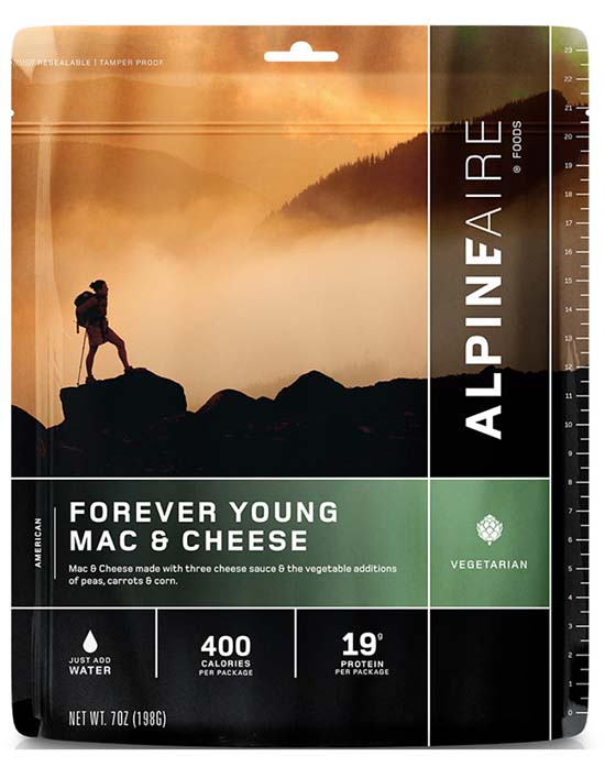 AlpineAire backpacking food