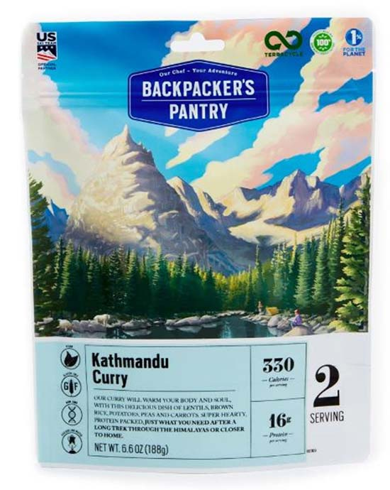 Backpackers Pantry backpacking food