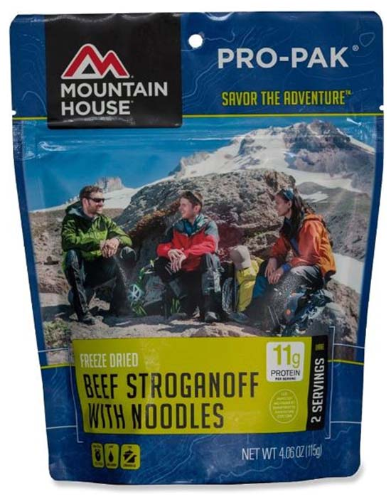 Mountain House Pro Pak backpacking food