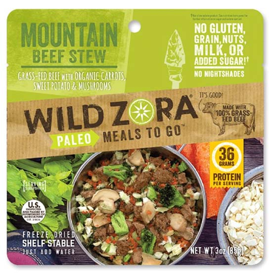 Paleo Meals To Go backpacking food