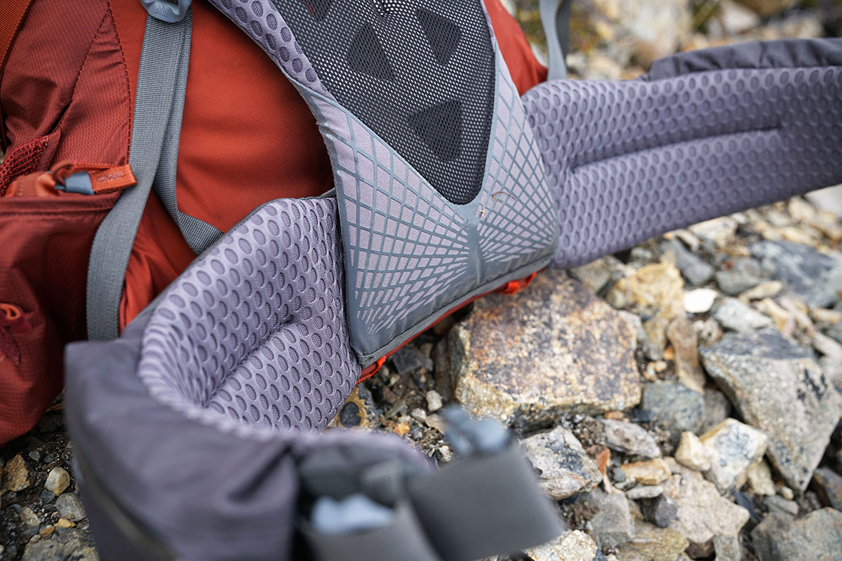 Backpacking pack (Gregory Baltoro padding)