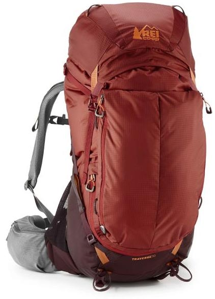 REI Co-op Traverse 70 backpacking pack