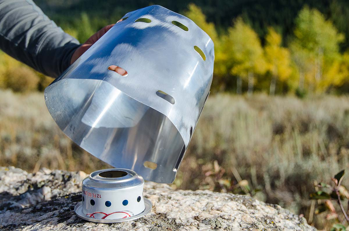 Backpacking stove (Trail Designs Caldera Cone)