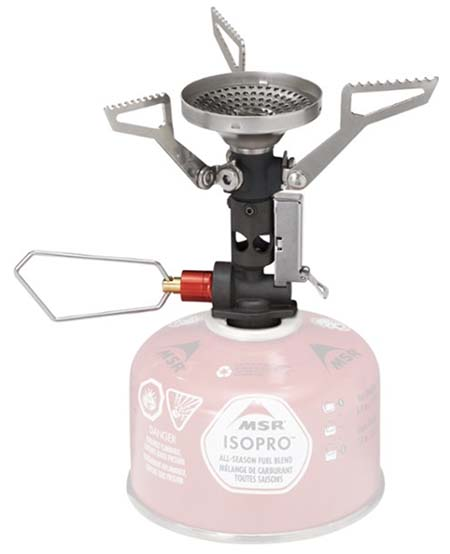 MSR Pocket Rocket Deluxe backpacking stove