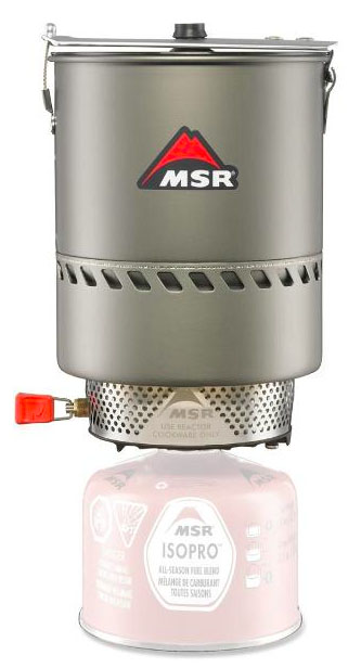 MSR Reactor 1.7L backpacking stove system