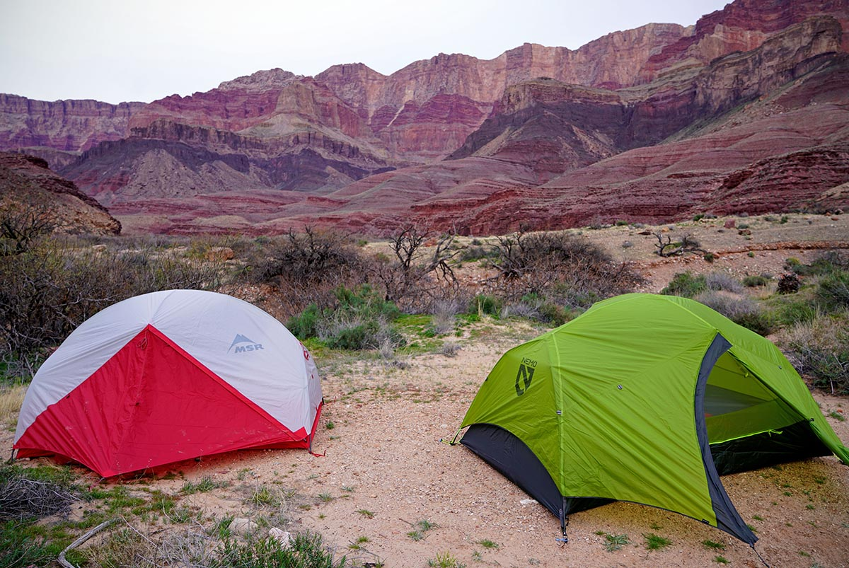 Backpacking Tents (Hubba and Dagger)