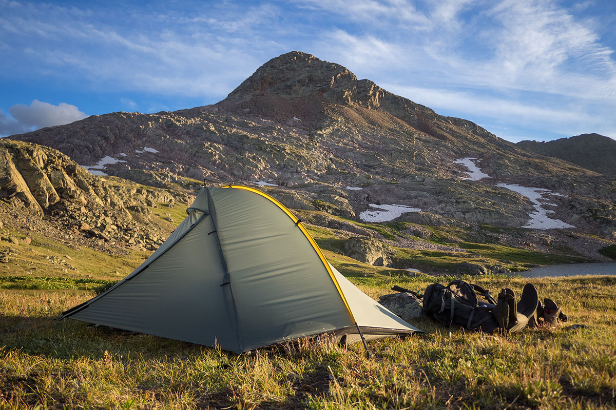 Backpacking tent (Tarptent Double Rainbow)