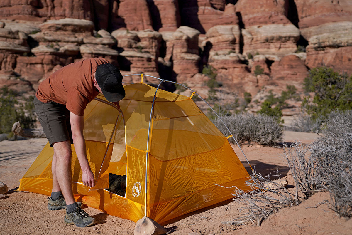 Big Agnes Tiger Wall tent (ventilation)