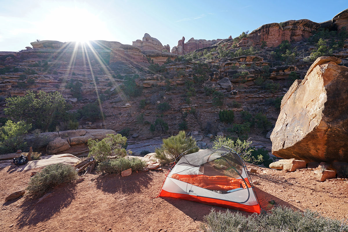 REI Quarter Dome 2 Zelt