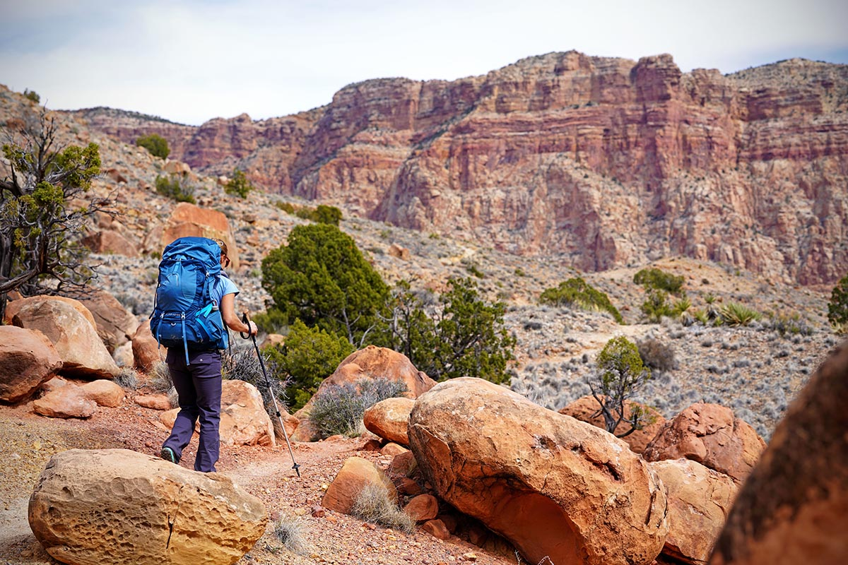 Hiking pants (prAna Halle in Grand Canyon)