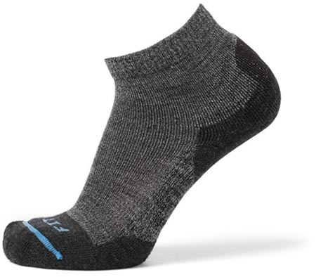 FIts Light Hiker Quarter hiking socks