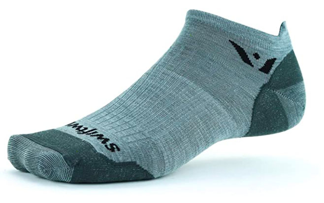 Swiftwick Pursuit Zero Ultralight no-show sock
