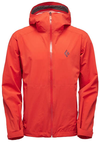 Black Diamond StormLine rain jacket