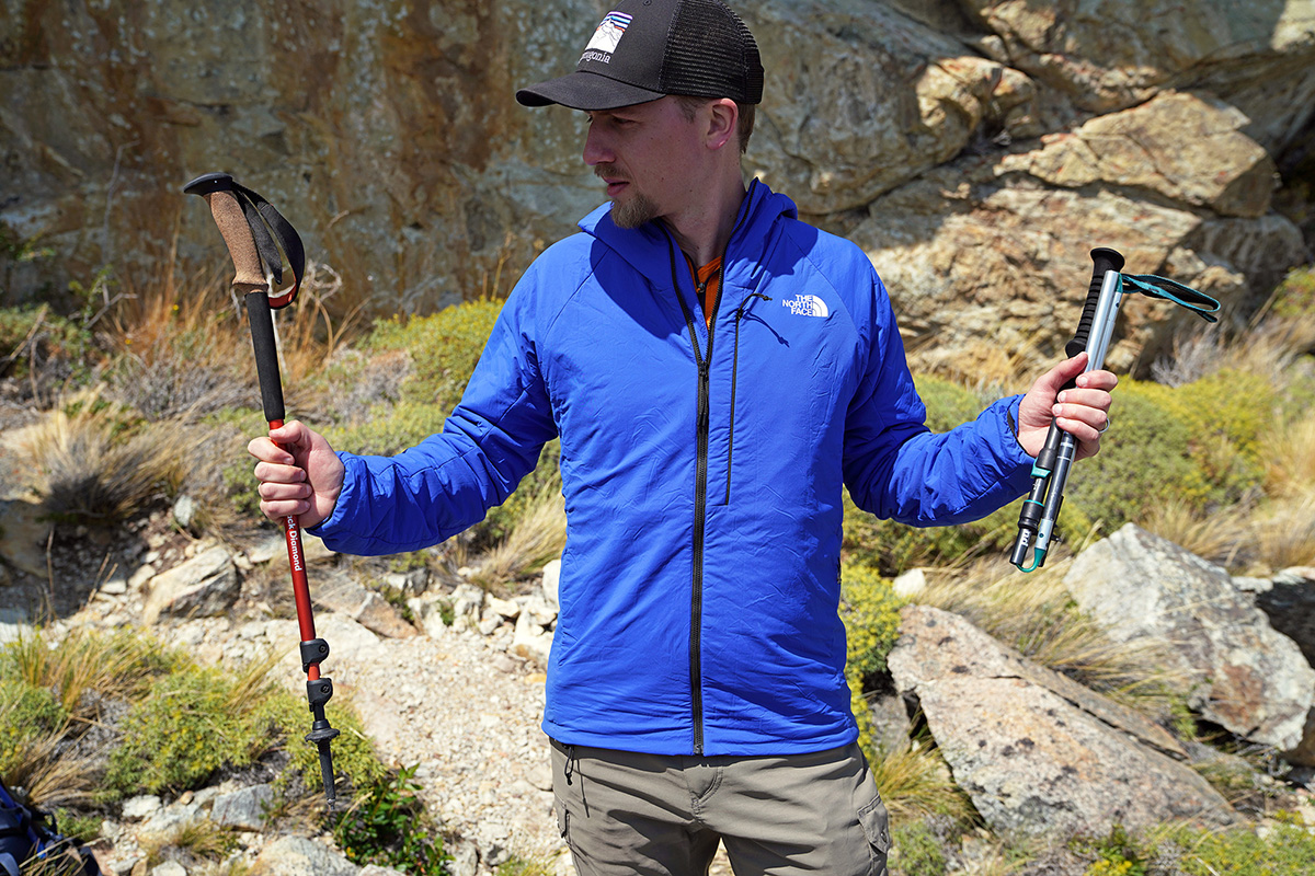 Trekking poles (telescoping vs. folding)