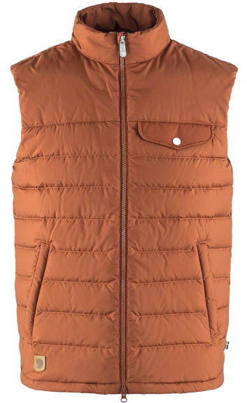 Fjallraven Greenland Down Liner vest autumn leaf
