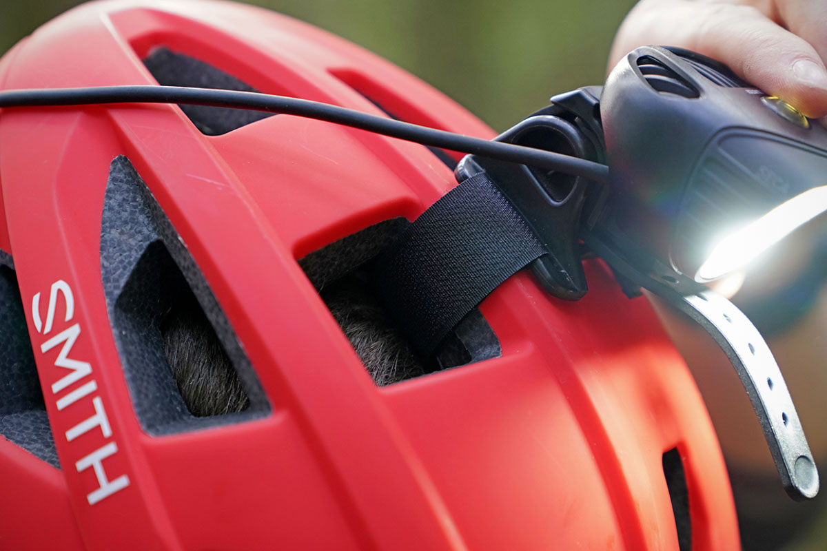 Bike light (helmet mount)
