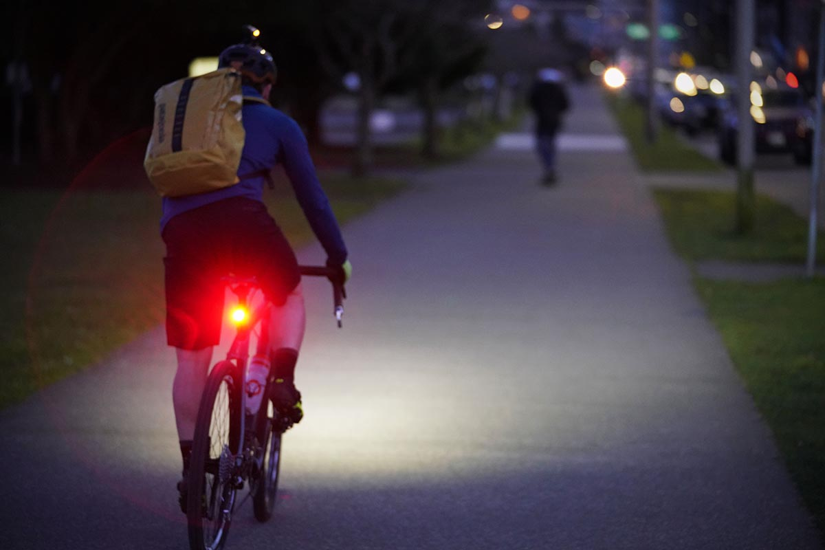 Bike light (red rear light)