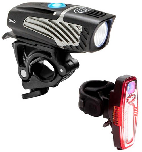 NiteRider Micro Lumina 650 Sabre 80 light set