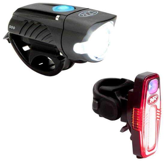 NiteRider Swift 500 and Sabre 80 bike light set