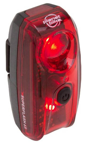 Planet Bike Superflash 65 bike light