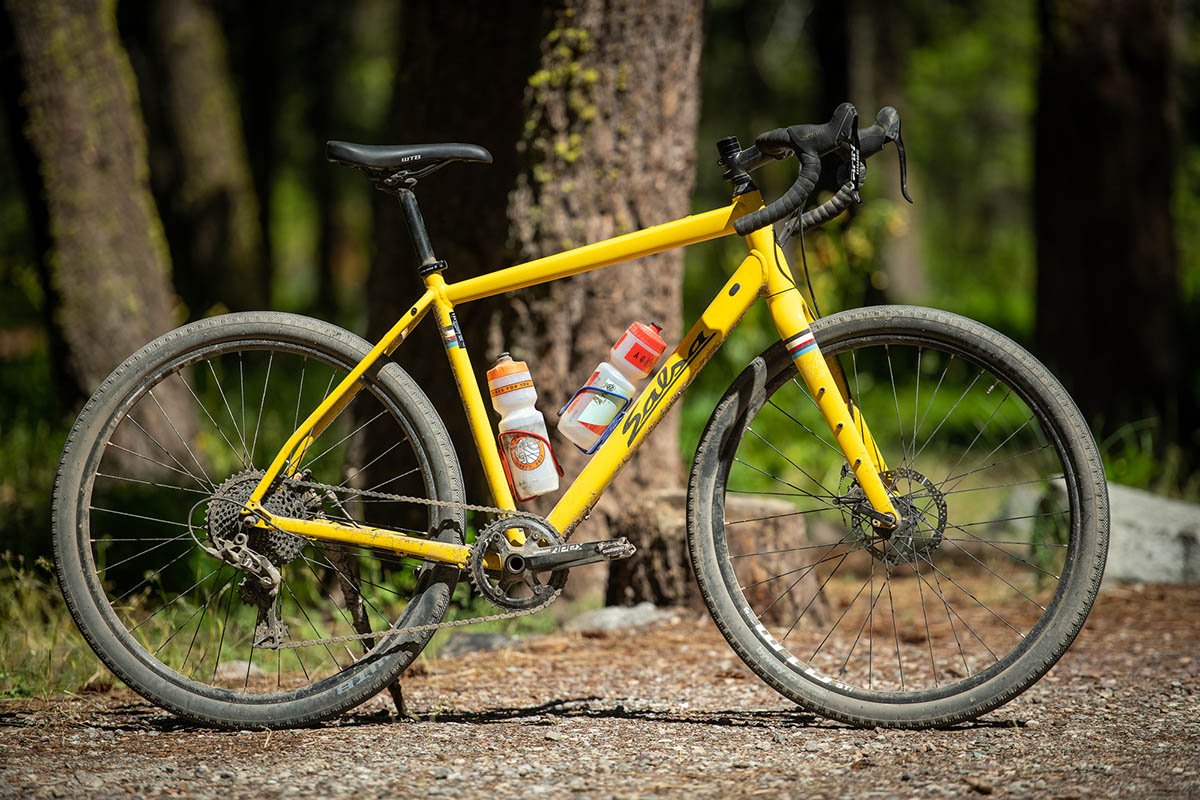 Gravel bike (Salsa Journeyman)