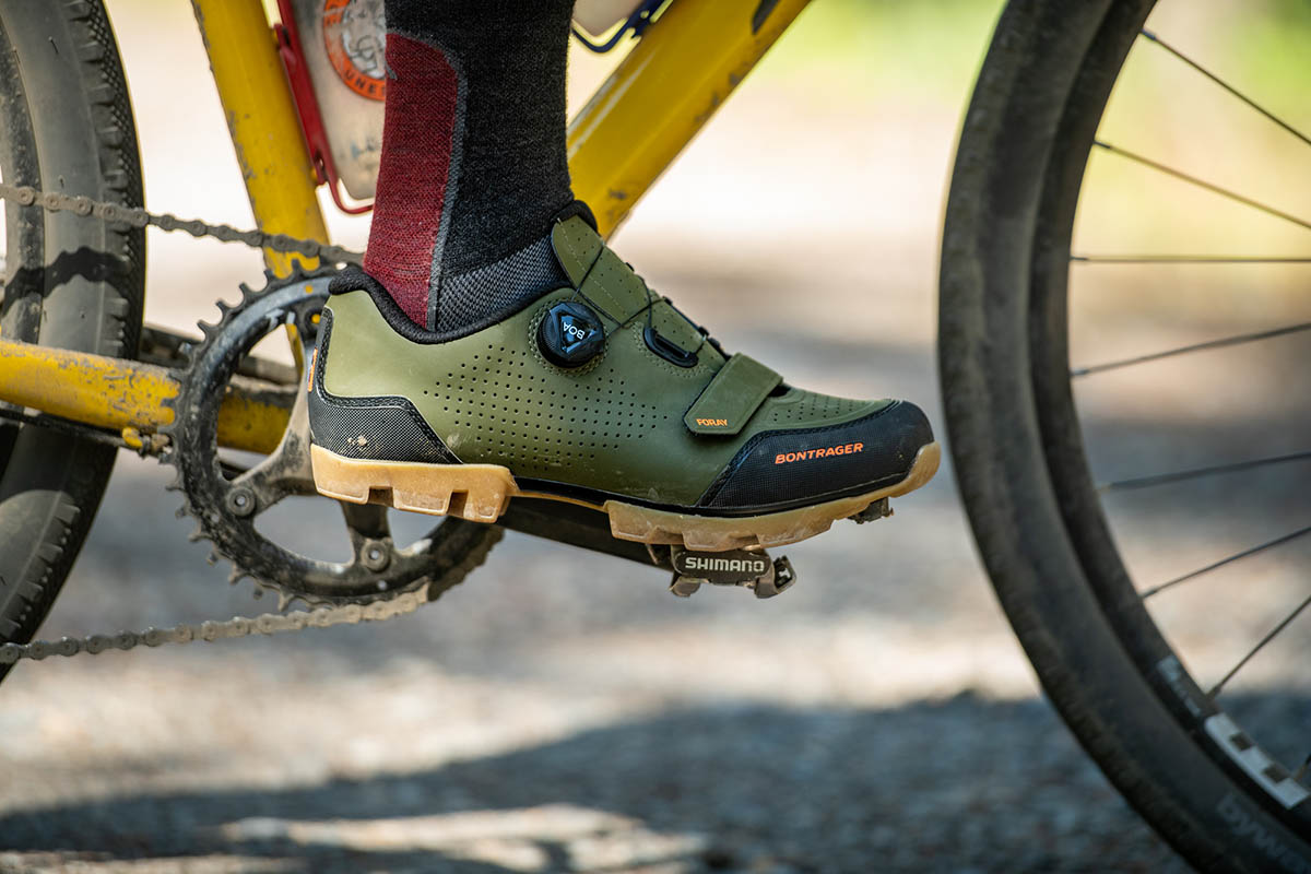 Gravel bike (biking shoes)