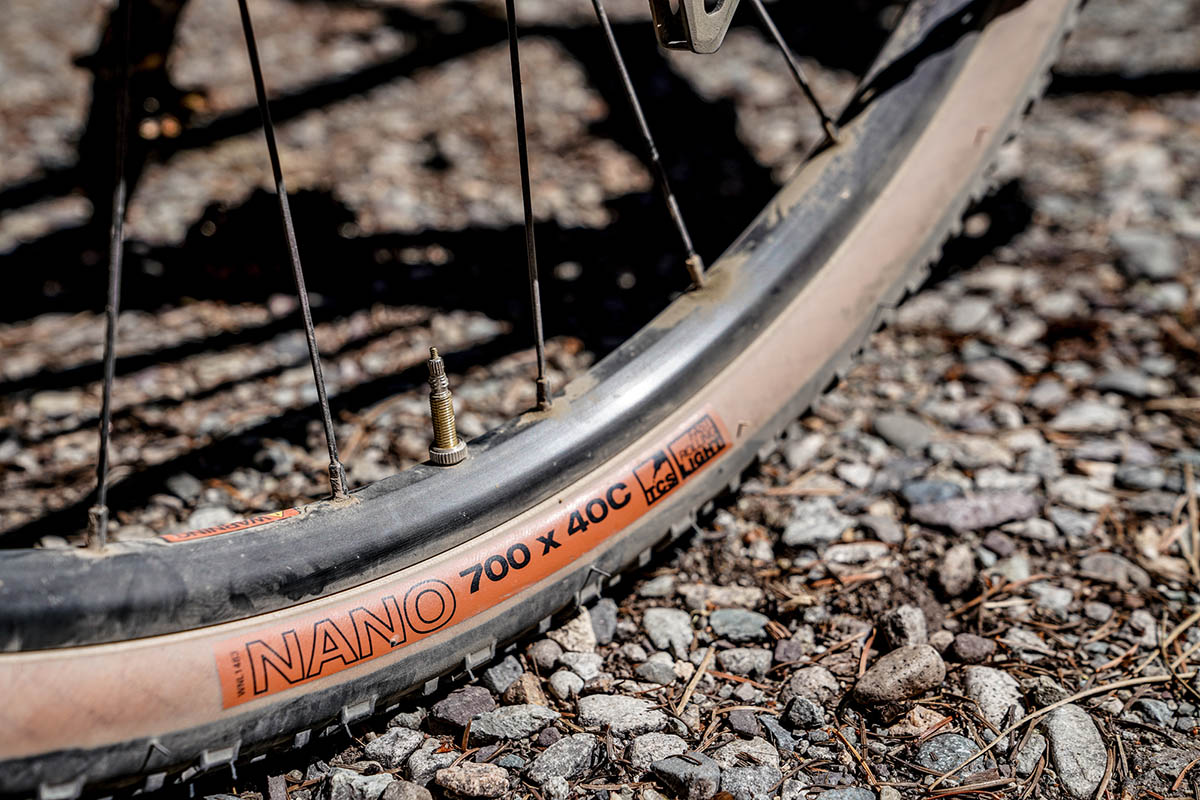 Gravel bike (tire pressure)
