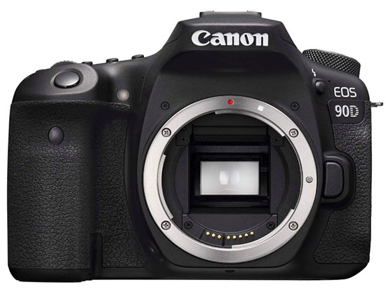 Canon 90D DSLR camera